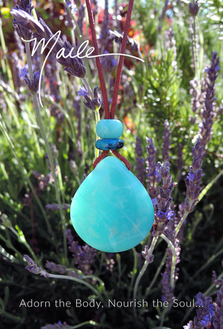 China Blue Ice Pendant
