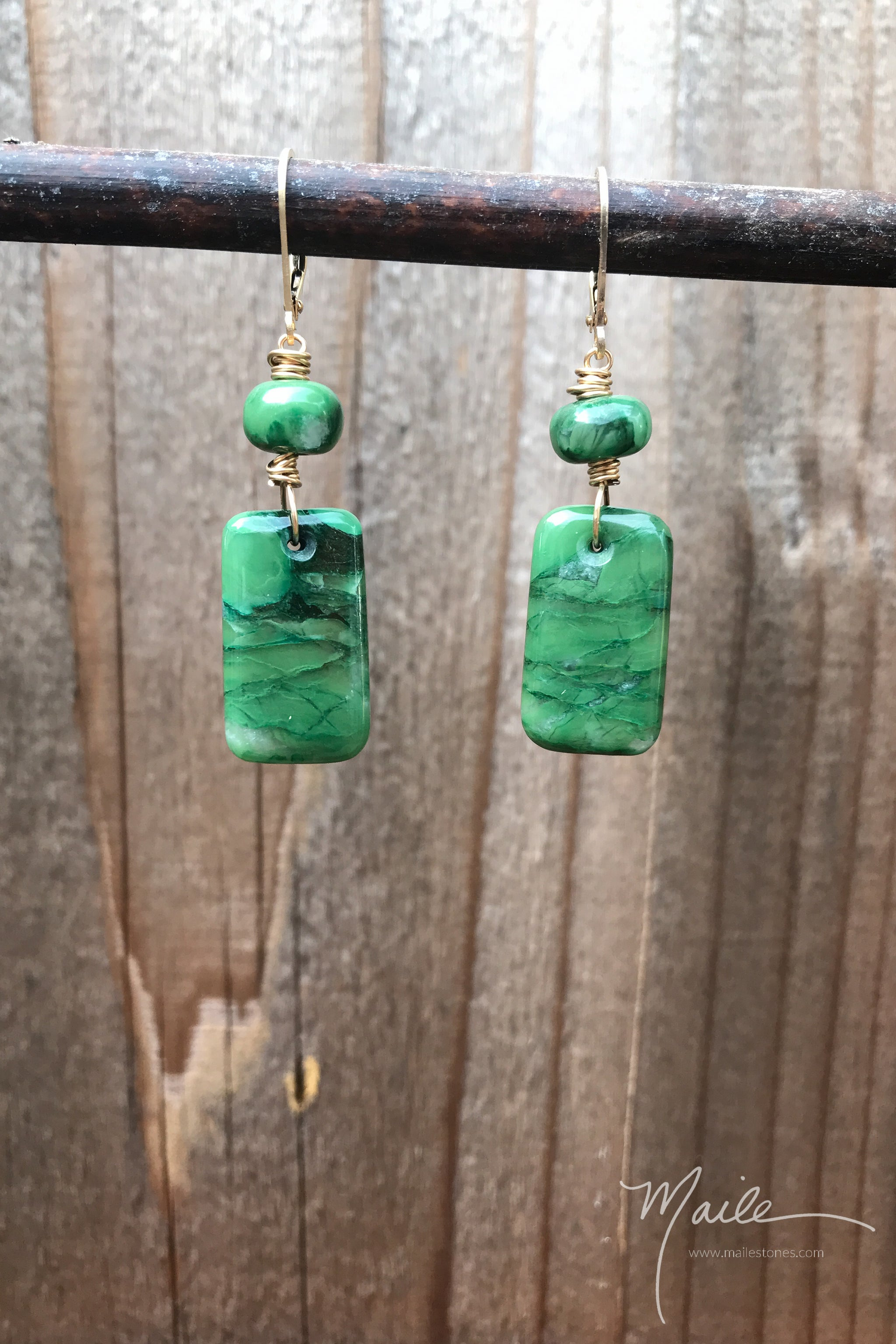 Buddstone Earrings