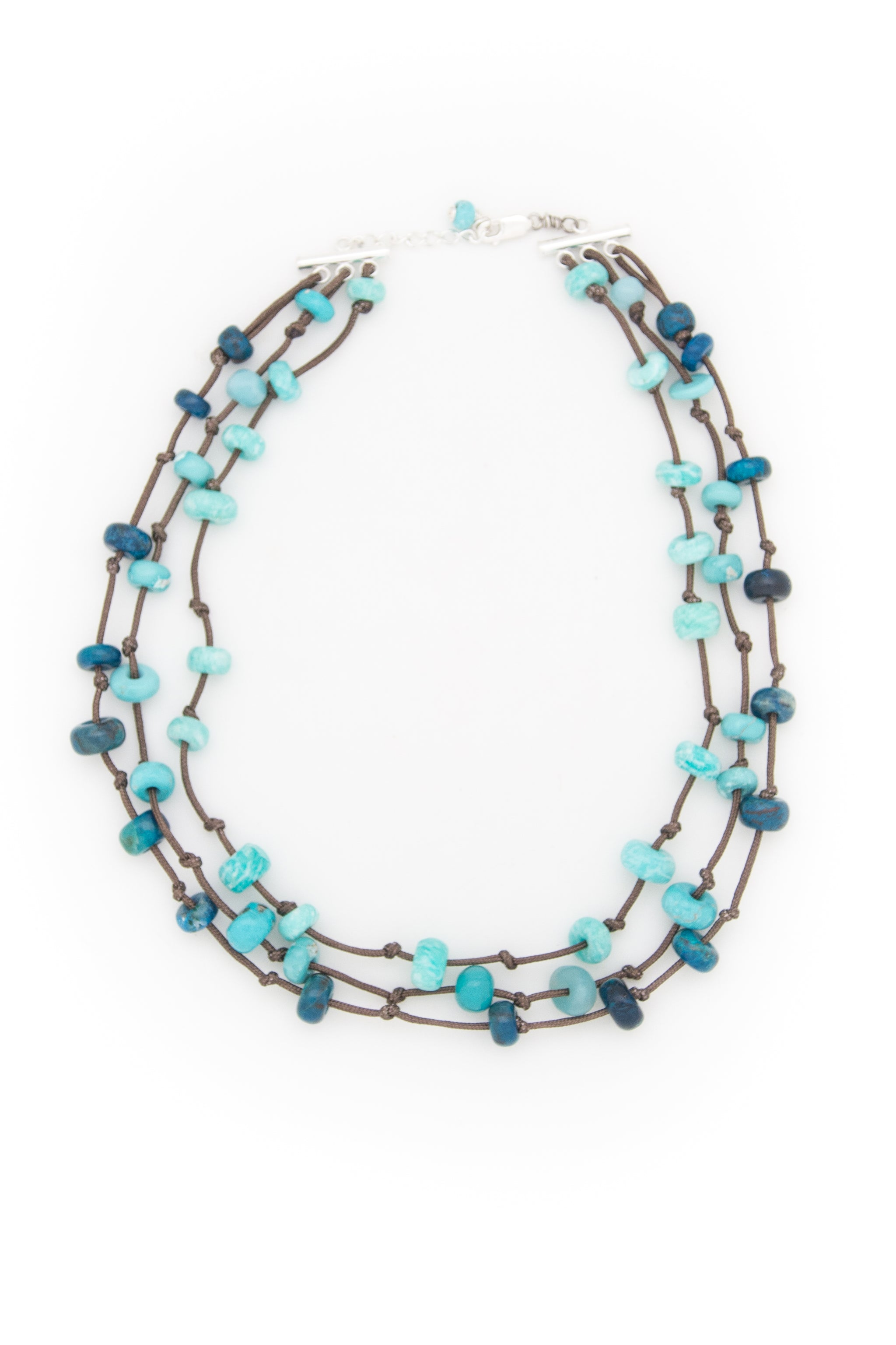 Three Strand Ecstasy Necklace