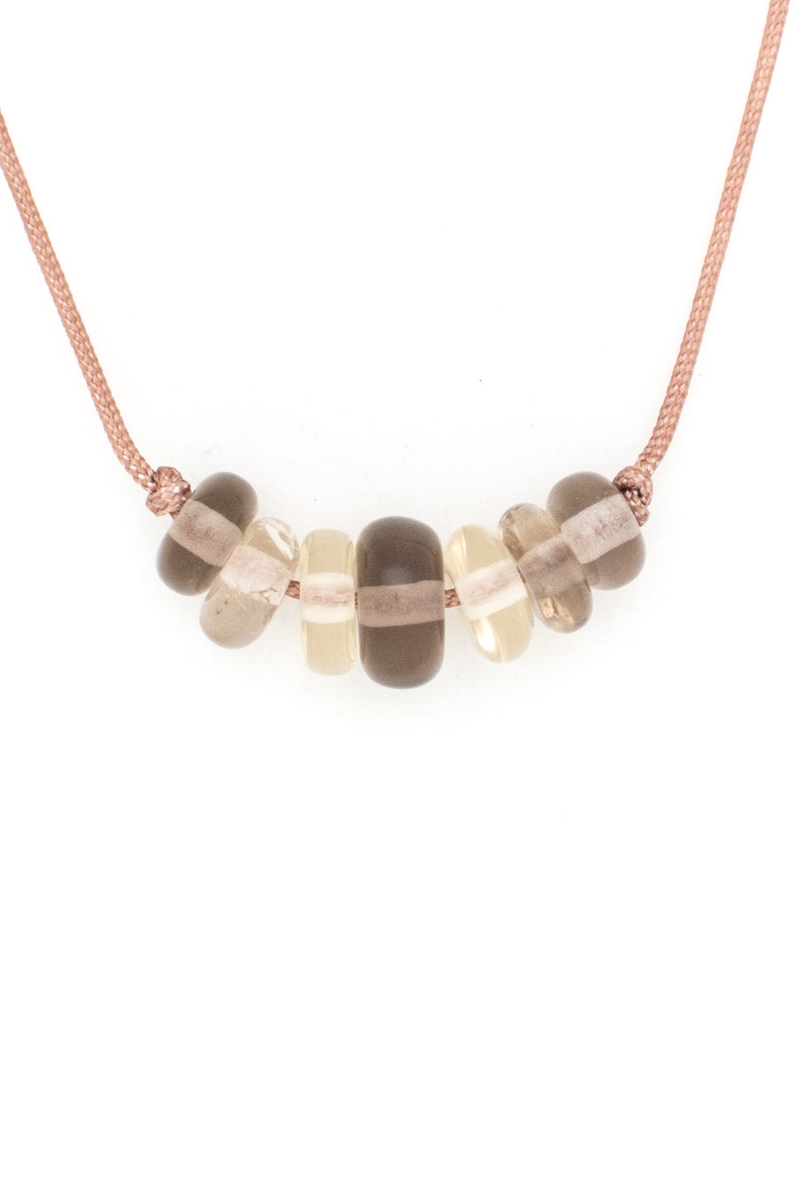 Smokey Quartz & Friends Love Bead Necklace