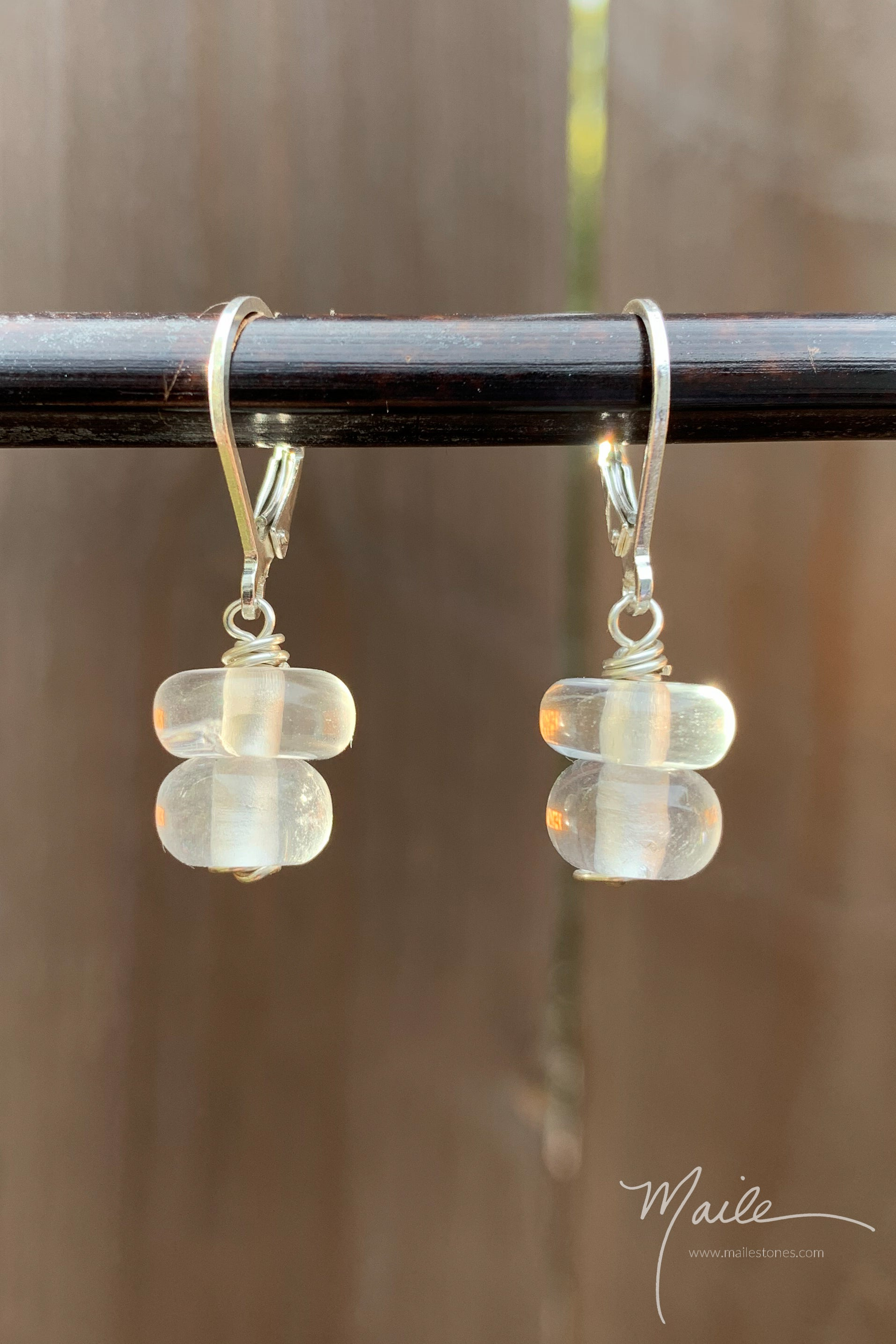 Metamorphosis Quartz Earrings