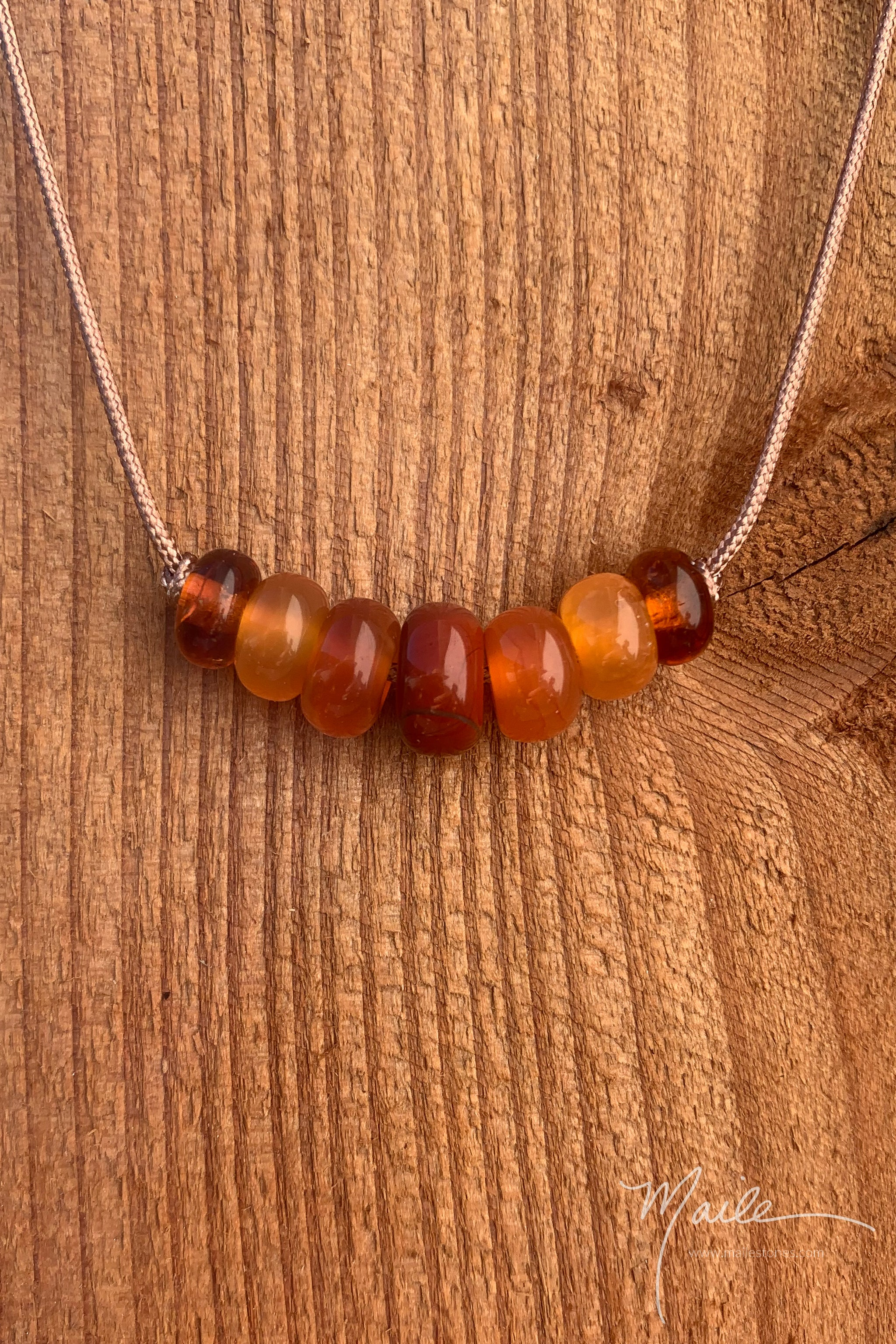 Red Jasper & Friends Love Bead Necklace