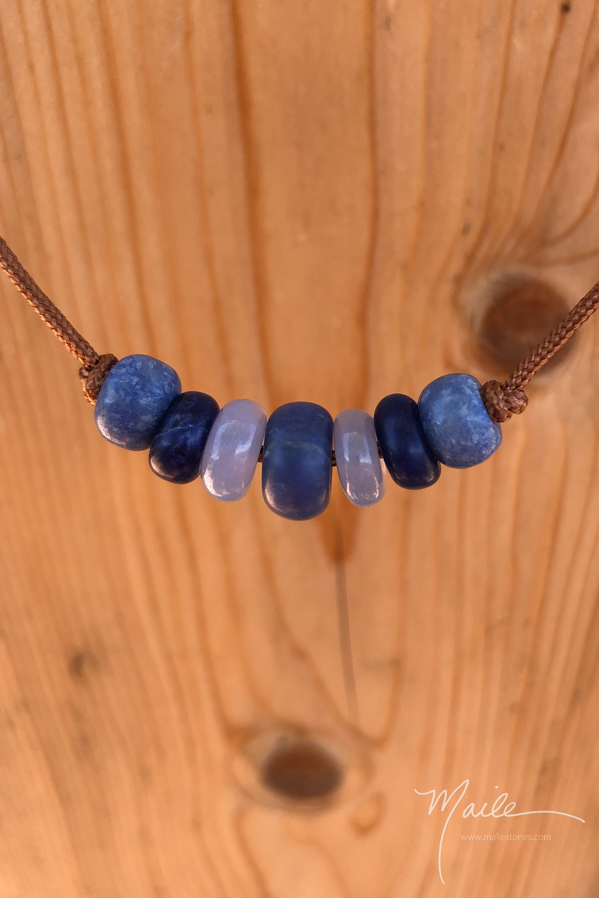 Sodalite & Friends Love Bead Necklace