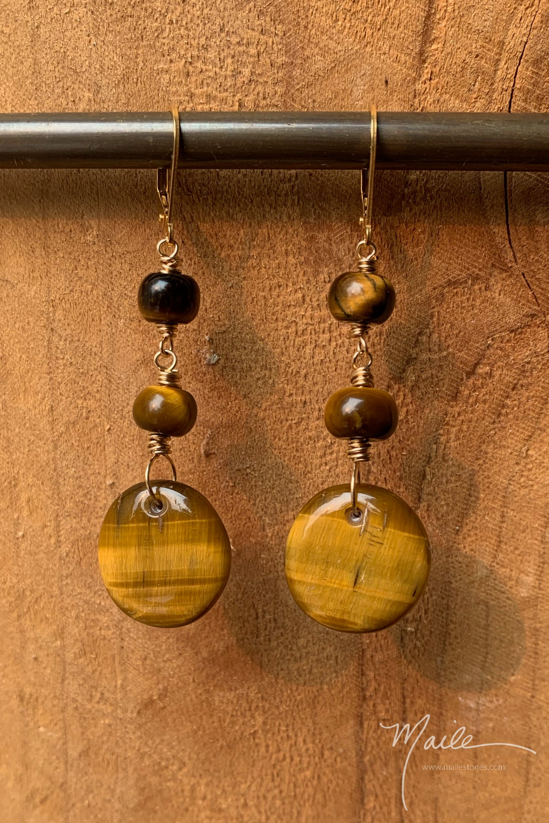 Tiger's Eye Earrings