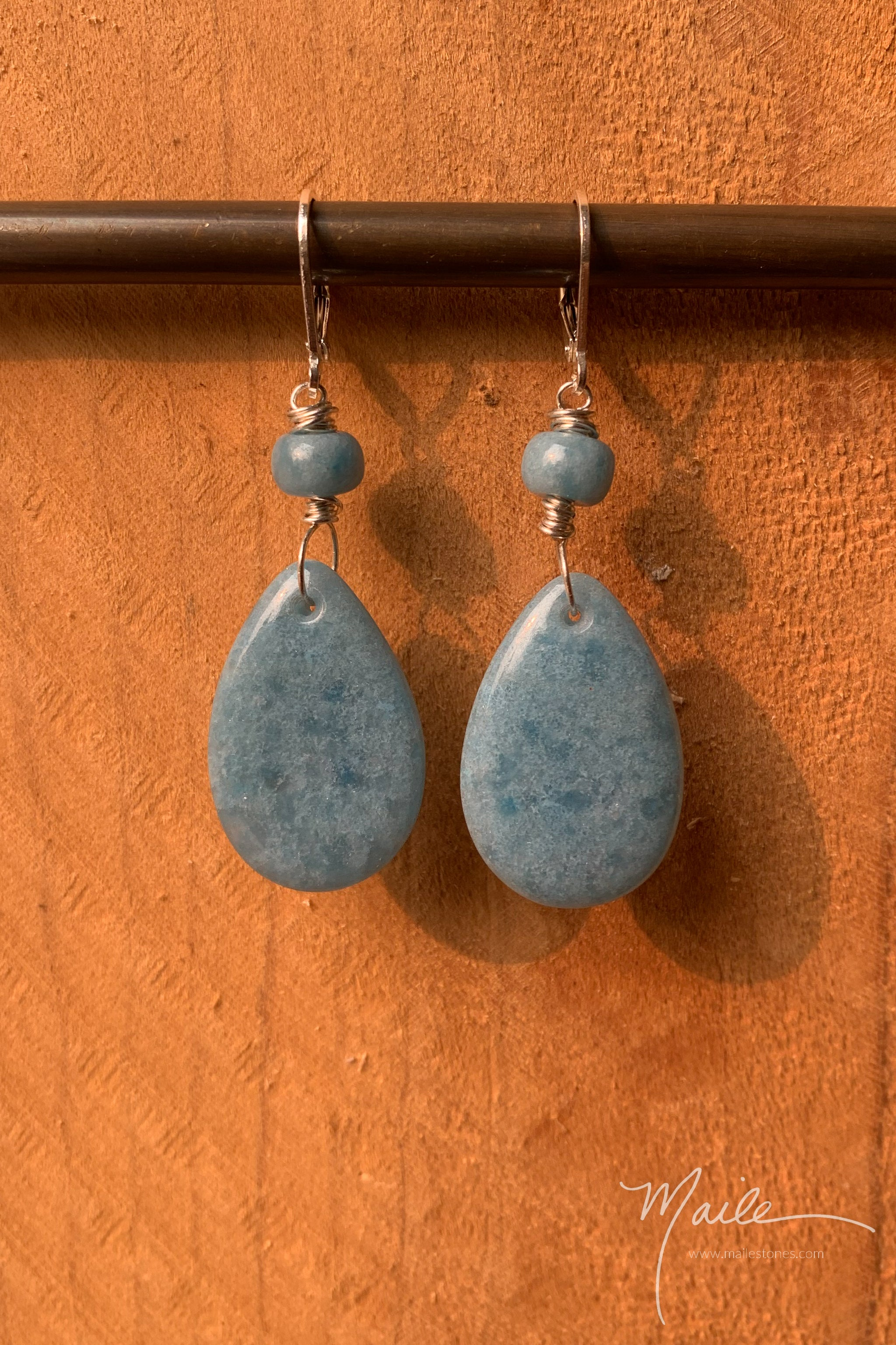 Triallite Earrings
