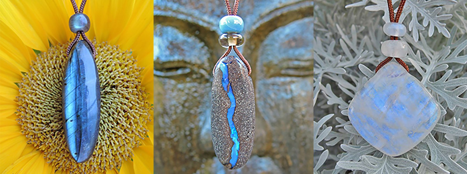 Handcarved Stone Jewelry in Santa Barbara