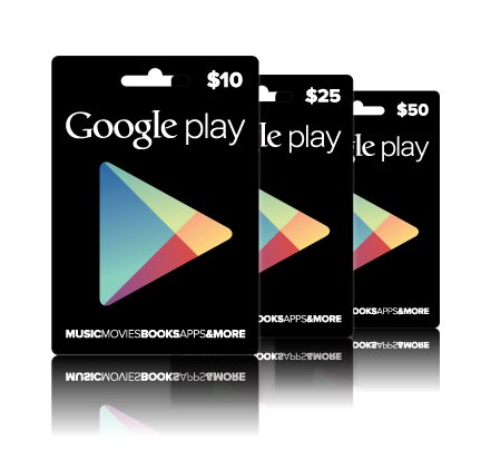 Google Play Gift Card for US account - email delivery