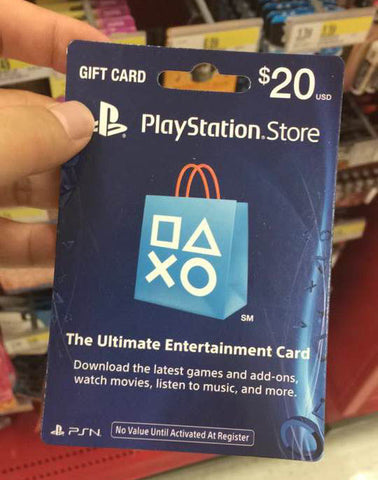 PlayStation Store Gift Card - email delivery