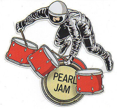 "KILLER MINT ORIGINAL 2009 PEARL JAM ""BACKSPACER"" DIE-CUT PROMOTIONAL STICKER"