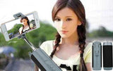 5-In-1 Selfie Stick, Bluetooth Speaker, Power Bank, Flashlight & Phone Holder