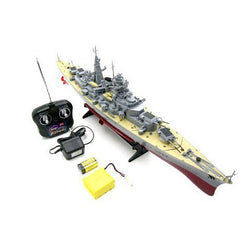 "German Bismarck Military Battleship 1/360 RC 28"" Warship R/C Cruiser"