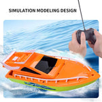 Wholesale Lot 60 Dual Motors High Speed RC Boat, Binary 2.4 GHz Remote Control Racing Yachts