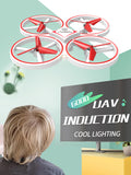 Flash LED Inductive Four-axis Drone