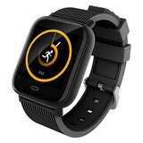 Waterproof Smartwatch with Heart Rate, Blood Pressure & Oxygen Level Monitor
