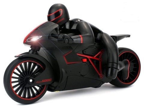 Speedy Race Lightning Remote Control Motorcycle w/ Rider