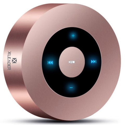 [LED Touch Design] Bluetooth Speaker, XLEADER Portable Wireless Bluetooth Speakers with HD Sound