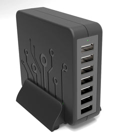 7-Port USB Fast-Charging Station
