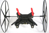 RC Flying Toys Drones for Kids, Mini Drone Helicopter, Black/Red