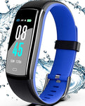 Smart Watch with Blood Pressure Heart Rate Monitor, IP68 Waterproof Smart Watch