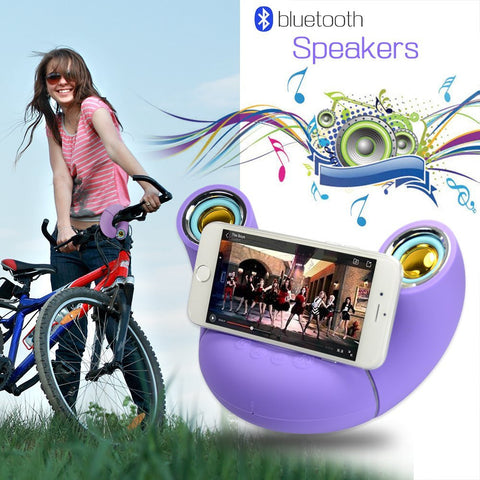 6W Power Bluetooth Speaker, Purple