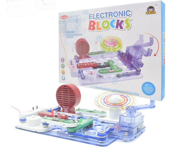 Electronic Discovery Kit Learning Circuit Educational, Best DIY Toy for Ages 8+ Kids