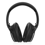 Foldable Active Noise Cancelling Bluetooth Headphones with Zip Bag, Wireless Over Ear Headset