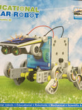 DIY Assemble 14-In-1 Solar Transformers Robot Kit
