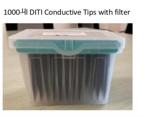 Biorear Sample Conductive Tips With Filter 10,000PCs