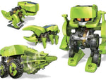 DIY Toy Outdoors Solar Powered 4-in-1 Transforming Robot Science Educational Kit