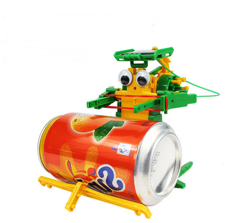 6-in-1 Solar Robot Recycler DIY Kit