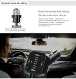 Bluetooth FM Transmitter USB Car Charger