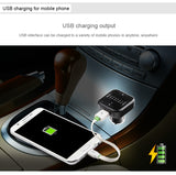 Wholesale lot 100 Bluetooth FM Transmitter USB Car Charger $6.79ea