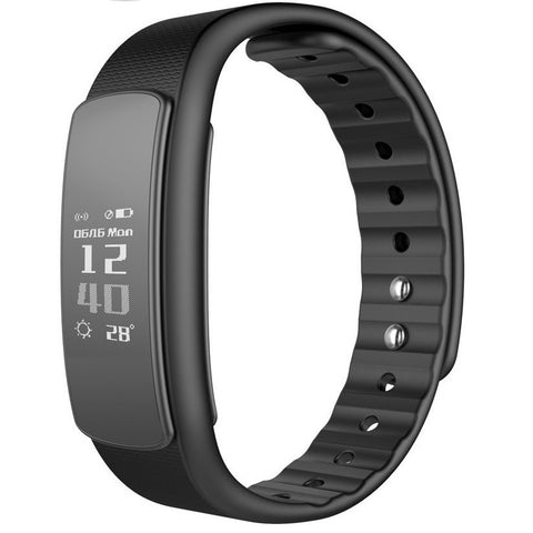 I3 HR Smart Watch Fitness Band Replacement, Black