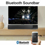 TV Home Theater Soundbar 10W Bluetooth Speaker with Built-in Subwoofer