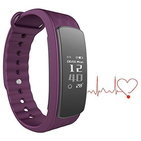 I3 HR Waterproof Smart Fitness Band with Heart Rate Tracking