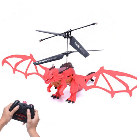 New Style X75 Drone 3.5CH Infrared Remote Control Dragon Aircraft