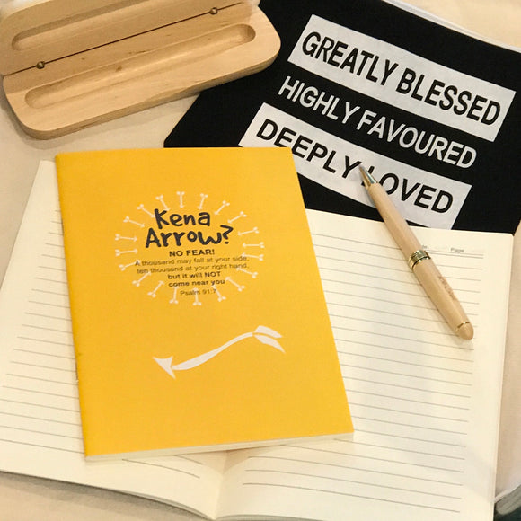 A5 Notebook - Kena Arrow (I'm a Singaporean Christian series)