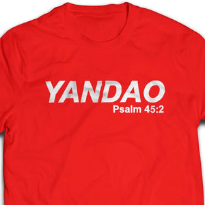 YANDAO Tshirt unisex cutting (white/black/red) - I'm a Singaporean Christian Lah! Series