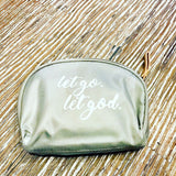 Make Up Pouch - Let go let god