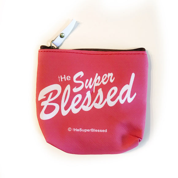 tHe Super Blessed PU coin pouch