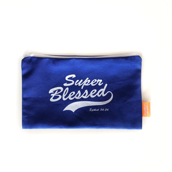 Super Blessed Pouch / pencil case 20x12cm