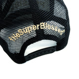 All things are Possible with God Black Quilted Mesh  Cap