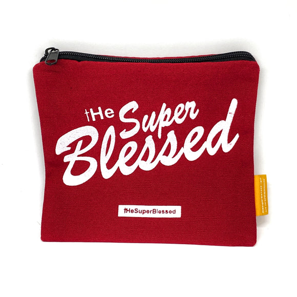 tHe Super Blessed Red Coin pouch 11x13cm