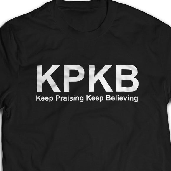KPKB Tshirt unisex (white/black)- I'm a Singaporean Christian Lah! Series