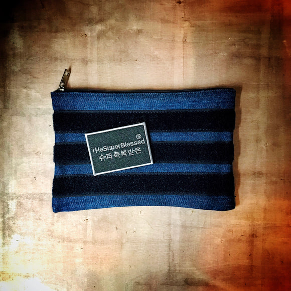 Verse-It Denim blue cloth pouch