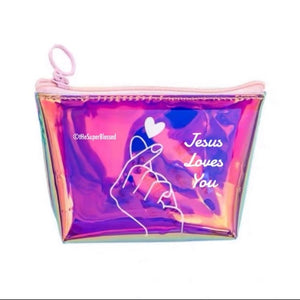 Jesus Loves You Coin Pouch