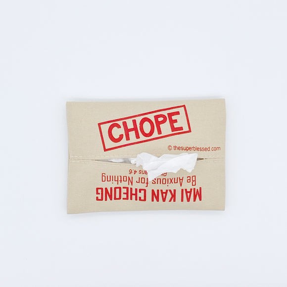 Chope! Mai Kan Cheong Fabric Tissue Pouch Holder