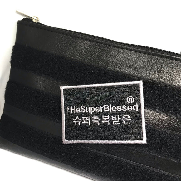 Verse-It PU Leather black pouch