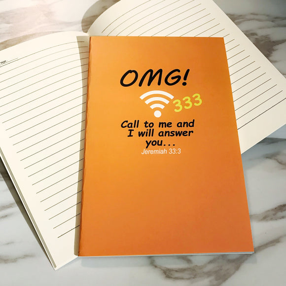 A5 Notebook -  OMG (I'm a Singaporean Christian series)