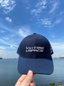 The Year of Time & Space ECC 9:11 Navy trucker cap